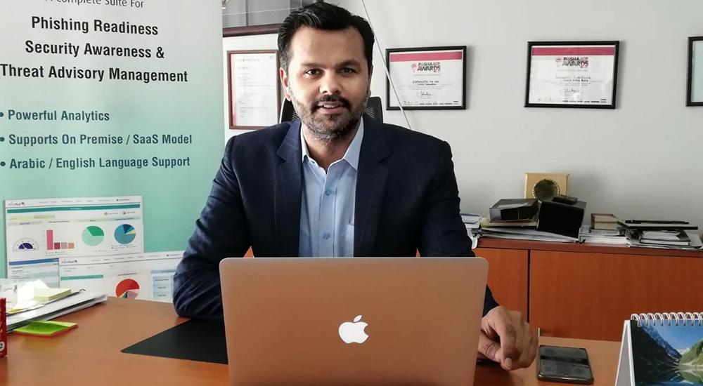 Syed Abid Ali, Co-Founder and CCO, PhishRod.