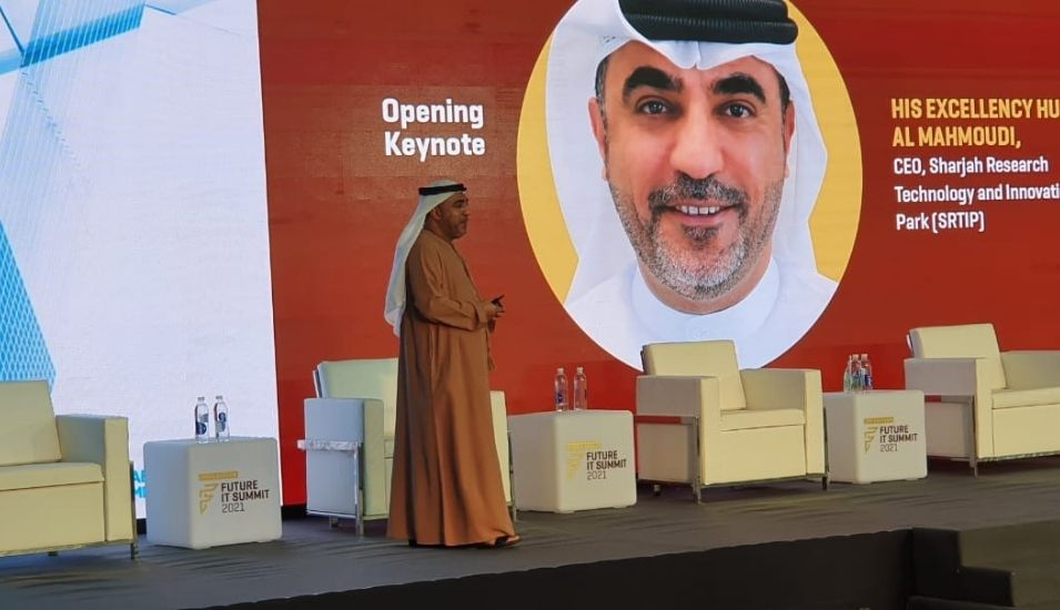 HE Hussain Al Mahmoudi, CEO of SRTIP