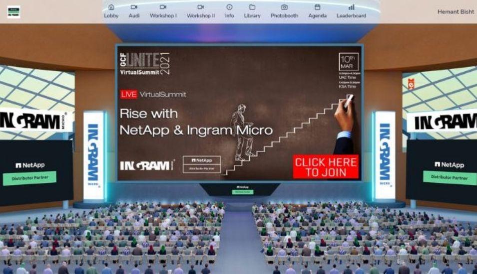Rise With NetApp and Ingram Micro VirtualSummit.
