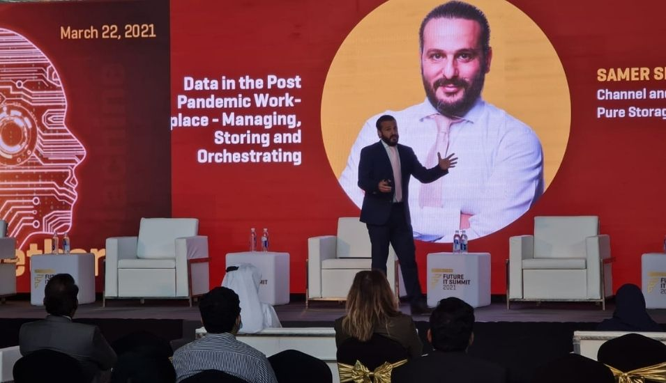Samer Semaan, Channel and Alliance Manager, ME, Pure Storage.