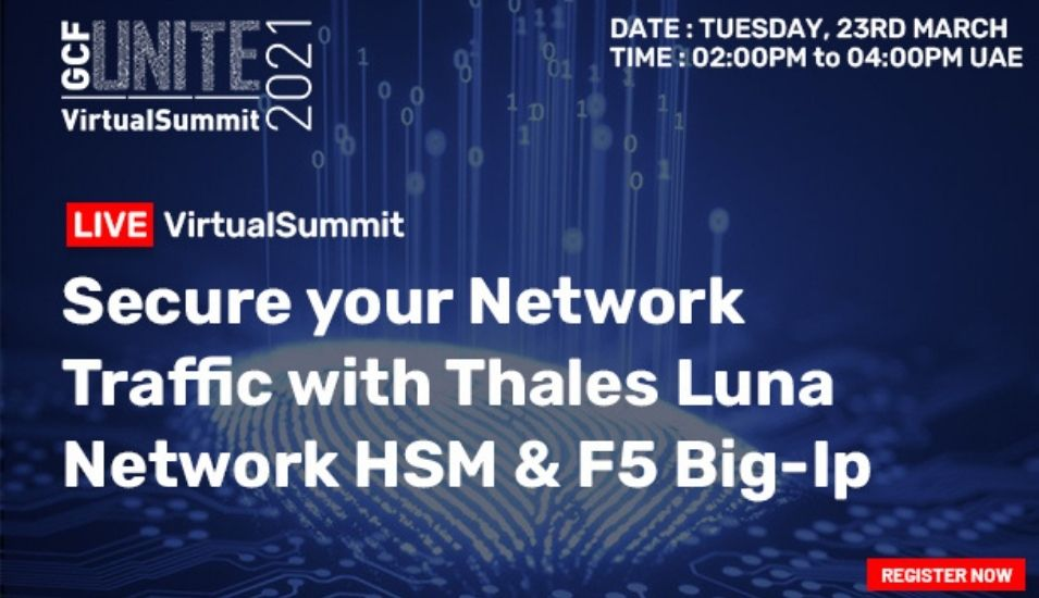 Thales Luna Network HSM and F5 Big-IP VirtualSummit.