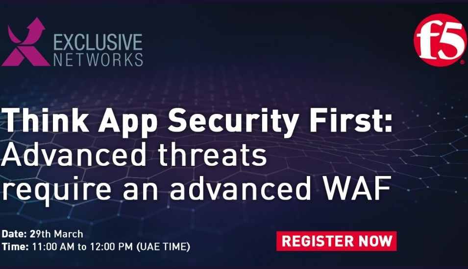 Think App Security First: Advanced threats require an advanced WAF VirtualSummit.