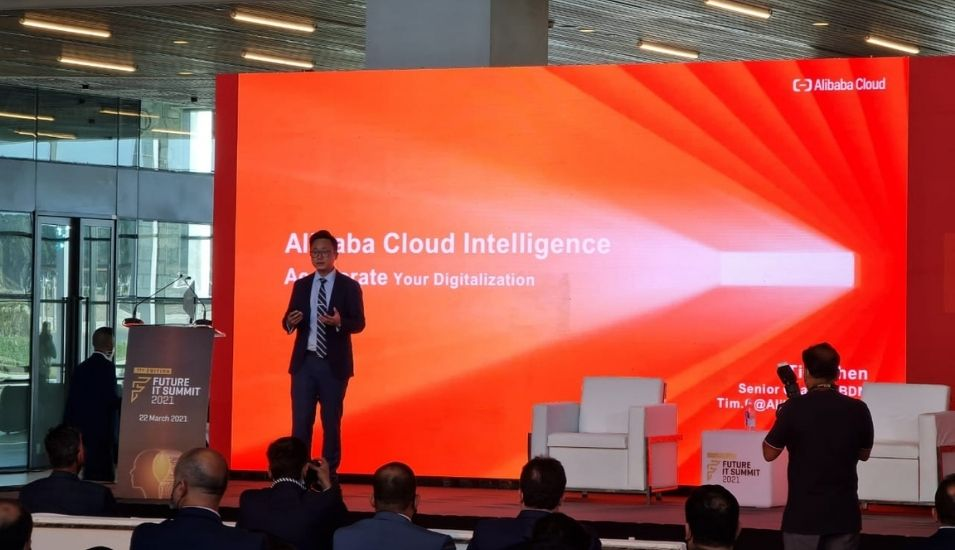 Tim Chen, Senior Channel Business Development Manager, Alibaba Cloud.