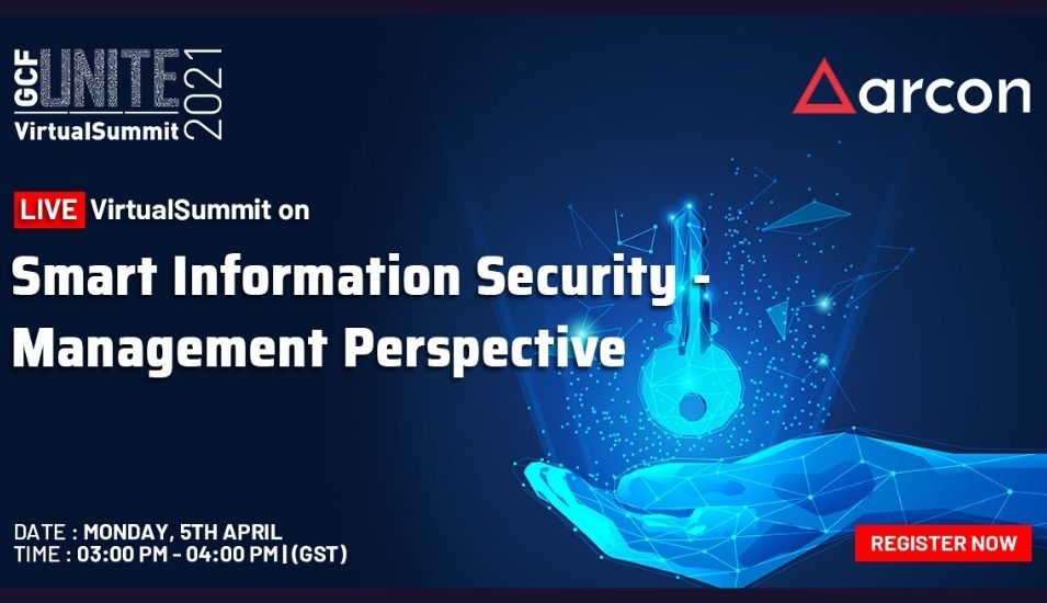 Smart Information Security - Management Perspective by Arcon.