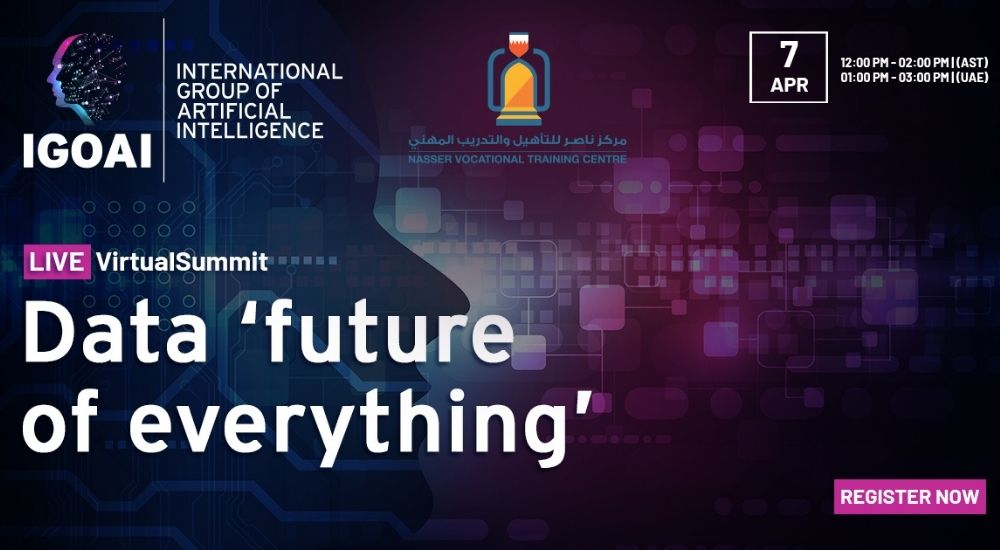 Data, Future of Everything virtual summit.