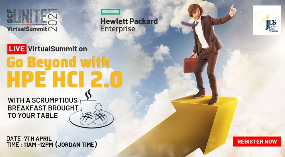 Go Beyond with HPE HCI 2.0 virtual summit.