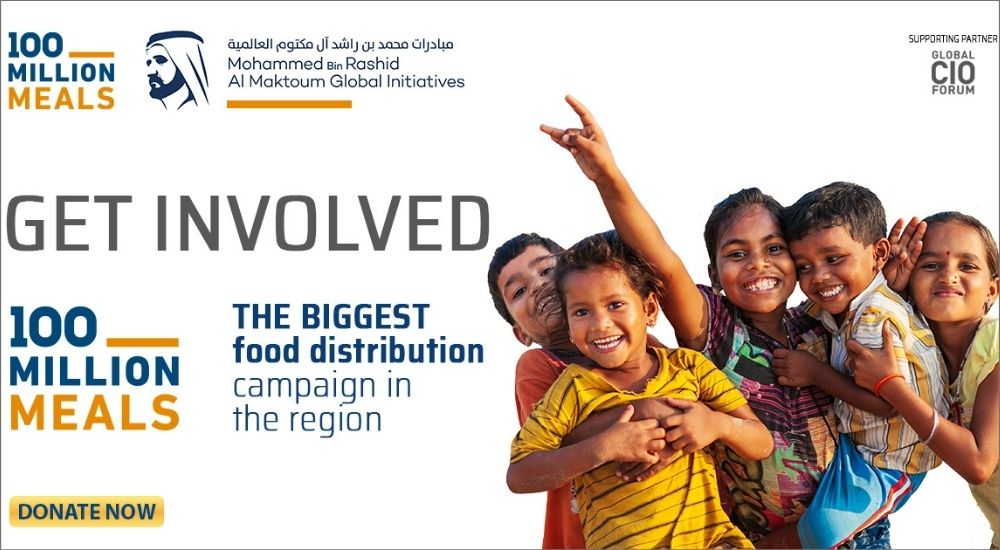 Each One, Feed One initiative by Global CIO Forum and GEC Media Group