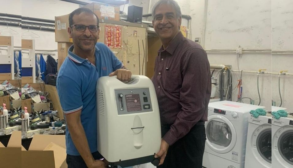 Jacky's Electronics is shipping oxygen concentrators to India. (Source: LinkedIn)
