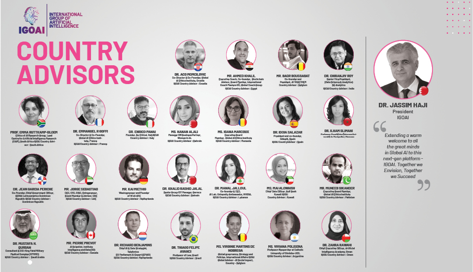 IGOAI expands operations globally by appointing 25+ country advisors.