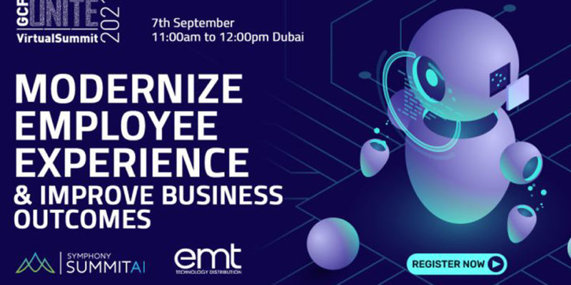 EMT Distribution, Symphony Summit AI host a virtual summit on Modernise Employee Experience